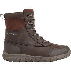 Sprayway Mens Resolute Leather Waterproof Walking Boots - Dark Brown