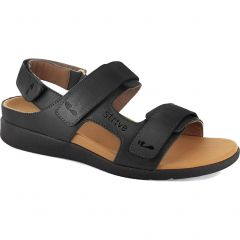 Strive Womens Aruba Orthotic Sandals - Black