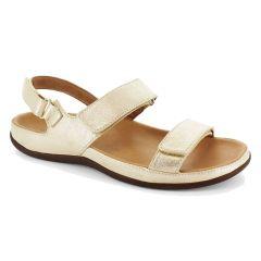 Strive Womens Kona Orthotic Sandals - Gold Metallic