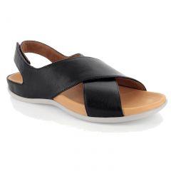 Strive Womens Venice Orthotic Sandals - Black