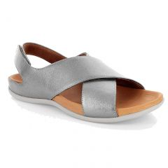Strive Womens Venice Orthotic Sandals - Pewter