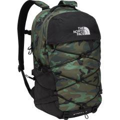 North Face Borealis Backpack Rucksack Laptop Shoulder Bag - Thymbrshw Camo TNF Black
