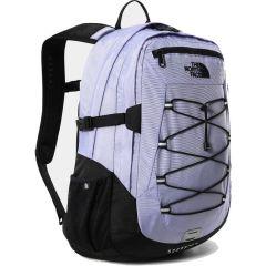 North Face Borealis Classic Backpack Rucksack Laptop Shoulder Bag - Sweet Lavender TNF Black