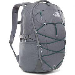 The North Face Borealis Backpack Bag - Zinc Grey Dark Heather Evergreen