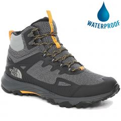 The North Face Mens Ultra Fastpack IV Mid FutureLight™ Walking Boots - Dark Shadow Griffin Grey