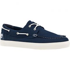 Timberland Mens Union Wharf 2 Eye Boat Oxford Shoes - Navy - A1Q860