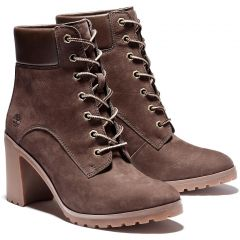 Timberland Womens Allington 6 Inch Boot - Dark Brown - A1Y21