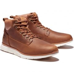 Timberland Mens Killington Chukka Wide Fit Ankle Boots - Rust - A21KN