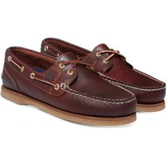 Timberland Womens Amherst Boat Shoes - Brown - 72333