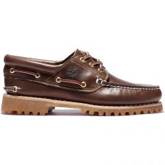 Timberland Mens Heritage Lace Up Boat Shoes - 30003 - Brown