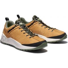 Timberland Mens Solar Wave Leather Trainers - Wheat - A2DJ7