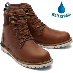 Toms Mens Ashland 2.0 Waterproof Boots - Brown