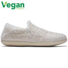 Toms Womens India Vegan Slippers - White Metallic Boucle