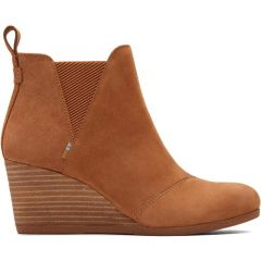 Toms Womens Kelsey Boots - Tan