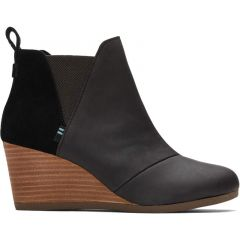 Toms Womens Kelsey Boots - Black
