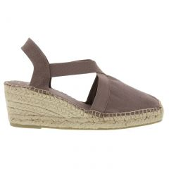 Toni Pons Womens Wedge Slingback Espadrille Shoes - Taupe