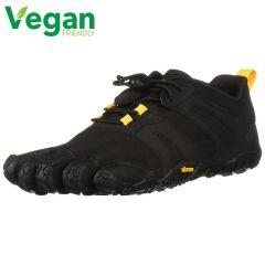 Vibram Five Fingers Mens V-Trail 2.0 Vegan Shoes - Black Yellow