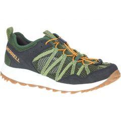 Merrell Mens Wildwood Aerosport Breathable Walking Trainers - Lichen