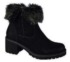 Cipriata Womens Gabriella Winter Ankle Boots - Black