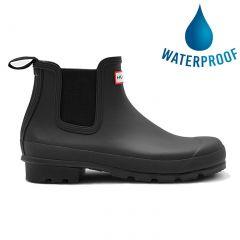 Hunter Mens Original Cheslea Short Wellies Ankle Rain Boots