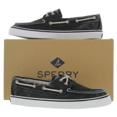 Sperry Womens Bahama Canvas Boat Deck Shoes