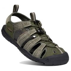 Keen Mens Clearwater CNX Sandals - Forest Night Black
