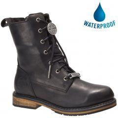 Harley Davidson Womens Heslar CE Waterproof Boots - Black