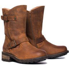 Oak & Hyde Womens Crest Demi Boots - Cesar Cognac