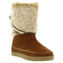 Toms Womens Nepal Pull On Boots - Tan Brown