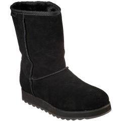 Skechers Womens Keepsakes 2.0 First Flurry Boots - Black