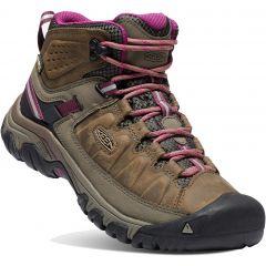 Keen Womens Targhee III Mid WP Waterproof Boots - Weiss Boysenberry