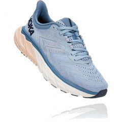 Hoka One One Womens Arahi 5 Wide Fit Running Shoes - Blue Fog Provincial Blue