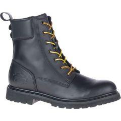 "Harley Davidson Mens Beason 7"" Lace Ankle Boot - Black"