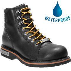 Harley Davidson Mens Cranstons Waterproof Boots - Black