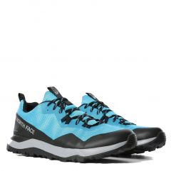 North Face Mens Activist FutureLight Waterproof Walking Trainers - Meridian Blue TNF Black