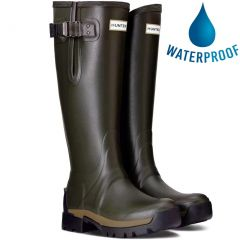 Hunter Womens Balmoral Field Tall Adjustable Neoprene Boots