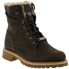 Harley Davidson Womens Clearfield Boots - Brown