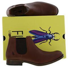 Fly London Mens Mezo Leather Chelsea Boots Boots - Cognac