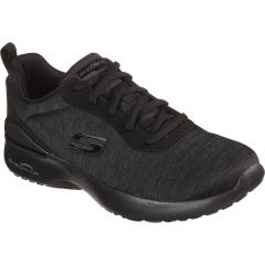 Skechers Womens Skech Air Dynamight Paradise Waves Trainers - Black Black