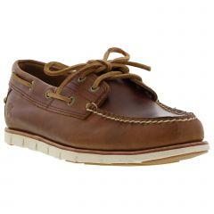 Timberland Mens Tidelands Boat Deck Shoes - Sahara Brown - A1BHL