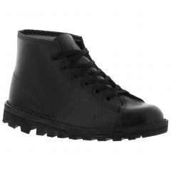 Grafters Mens Womens B430A Monkey Boots - Black