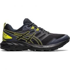 Asics Mens Gel Sonoma 6 Trail Running Shoes - Graphite Grey Sour Yuzu - Mens