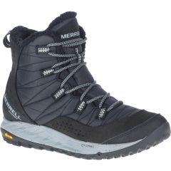 Merrell Womens Antora Sneaker Waterproof Ankle Boots - Black