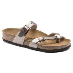 Birkenstock Womens Mayari Regular Fit Sandals - Graceful Taupe