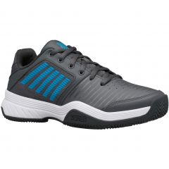 K-Swiss Mens Court Express HB Tennis Shoes - Dark Shadow White Swedish Blue