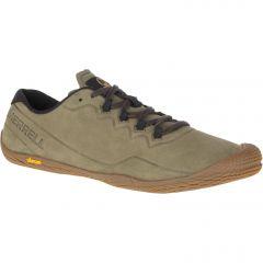 Merrell Mens Vapor Glove 3 Luna Ltr Leather Barefoot Shoes - Dusty Olive