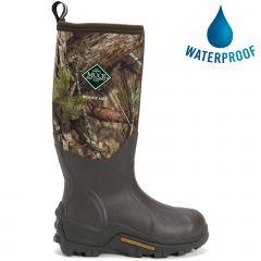 Muck Boots Mens Woody Max Neoprene Camouflage Wellies - Mossy Oak