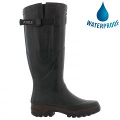 Aigle Parcours 2 Vario Adjustable Mens Womens Wellies Rain Boots - Bronze