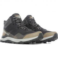 North Face Mens Activist Mid Futurelight Waterproof Walking Boots - Asphalt Grey Moab Khaki