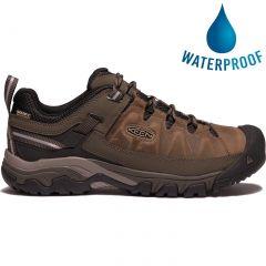 Keen Mens Targhee III Waterproof Shoes - Bungee Cord Black